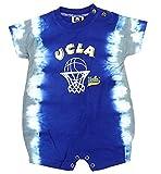 UCLA Bruins NCAAベビー男の子幼児Tie Dye Romper、ロイヤルブルー