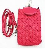 ナイキ リュックサック Shop XJ ガジェットケース 携帯 スマホ ポーチ 入れ物 鞄 外付け ホルスター ポシェット マグネット タイプ (ピンク)