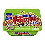 マルちゃん 亀田の柿の種わさび味焼そば 107g×12個入り (1ケース)