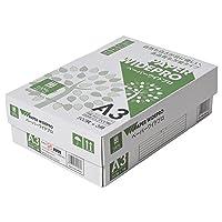 コピー用紙 A3 ペーパーワイドプロ 日本色 紙厚0.09mm 1500枚(500×3) AIK002