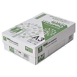 コピー用紙 日本色 A3 500枚×3冊/箱 ペーパーワイドプロ