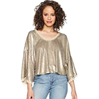 Free People Womens Champagne Dreams Tee