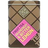 Tea total (ティートータル) / グレープフルーツ & ビターレモン 100g入り缶タイプ ニュージーランド産 (フルーツティー / フレーバーティー / ノンカフェイン / ドライフルーツ) 【並行輸入品】
