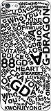 iPhone/Xperia/Galaxy/他機種選択可:テキストケース(デザイン:GD/カラー:ホワイト) 38 Docomo GALAXY S8(SC-02J)