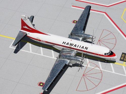 1: 200 ジェミニジェット Hawaiian 航空 YS-11 Old Colors (並行輸入)
