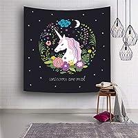 夢のようなコーナー壁掛け寝具ベッドカバーテーブルクロスピクニックビーチベッドリネンリビングルームの寝室の装飾 Hyococ (Color : A, Size : 203x150)