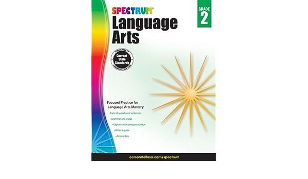 amazon spectrum language arts grade 2 spectrum vocabulary