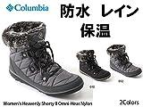 コロンビア ウィメンズ ヘブンリーショーティー2オムニヒートナイロン 010/BLACK-KETTLE BL1652 7/24.0cm