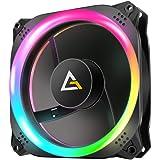 Ventilateur de boitier Antec Prizm 140 RGB 14cm (Noir) 0-761345-77514-4