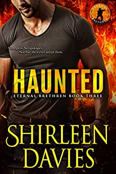 Haunted (Eternal Brethren Military Romantic Suspense Book 3) by [Davies, Shirleen]