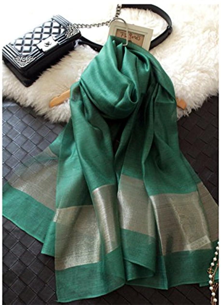 ブランデー予知クライストチャーチTICENTRAL レディース ファッション 冷房対策 シルク オーガンジー シフォンの柔かなストール ショール スカーフ 薄手 羽織り 200×70cm