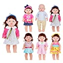お人形遊び きせかえセット ドレス ワンピースセット 6着 30-38cmのお人形に
