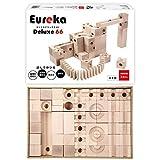 Eureka Deluxe 66 ユリイカ デラックス66 日本製 積み木 ビー玉 転がし スロープトイ 知育玩具