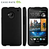 Case-Mate 日本正規品 au HTC One J / HTL22 Hybrid Tough Case, Black/Black ハイブリッド タフ ケース CM027637