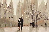 An Evening Out by Julia Purinton 40x 30Romantic Coupleアートプリント