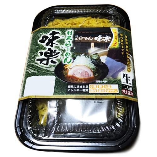 西山製麺 利尻ラーメン 味楽