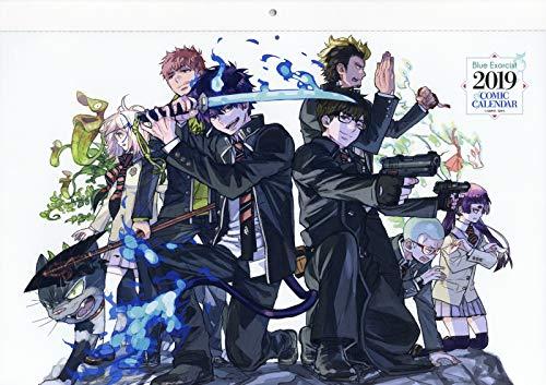 [画像:『青の祓魔師』コミックカレンダー2019 (ジャンプコミックス)]