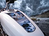 East CoastビニールWERKZ燃料タンク&フェンダーデカールfor Harley Davidson Sportsters & other motorcycles–' Thor 's Hammer '