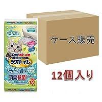 【ケース販売】1週間消臭・抗菌デオトイレ ふんわり香るシート 10枚