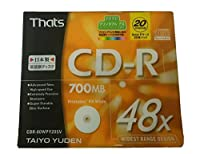 太陽誘電 That's CD-R CDR-80WPY20SV