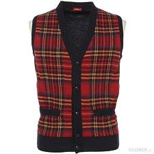 Altea Wool Button Front Sweater Vest 1363147