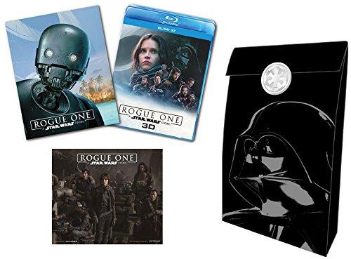 【Amazon.co.jp限定】ローグ・ワン/スター・ウォーズ・ストーリー MovieNEXプラス3D:オンライン初回限定商品 [ブルーレイ3D+ブルーレイ+DVD+デジタルコピー(クラウド対応)+MovieNEXワールド] [Blu-ray](オリジナルステッカー&ギフトバック付)