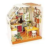 Robotime ドールハウス ミニチュア キット 3D 木製 DIY クラフト キッチン 大人 女の子