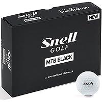 Snell Golf MTB BLACK(1箱12個入り) 日本正規品(日本語パッケージ)スネルゴルフ MTBブラック