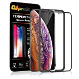 OAproda iPhone XR ガラスフィルム 液晶全面保護 強化ガラス【専用ガイド枠付き】画面鮮やか高精細 / 99%以上のケースに干渉しない(iPhoneXR 6.1インチ 用 フィルム)