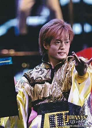 塚田僚一(A.B.C-Z) 公式生写真/ジャニーズワールド 2012-2013・衣装金×黄×紫・目線右方向