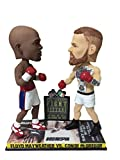 National Bobblehead HOF and Museum Floyd Mayweather Vs. Conor Mcgregor Mayweather Vs. Mcgregor Dual Bobblehead - Ufc Vs. Boxing [Special Edition]