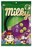 不二家 宇治抹茶ミルキー(日本のおもてなし) 袋 80g ×6袋