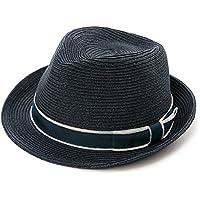 f888a4c691f Siggi Panama Straw Summer Fedora Sun Hat Beach Trilby Short Brim Vintage  for Men 56-