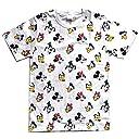 ディズニー Tシャツ ミッキーマウス フレンズ パターン Mサイズ AWDS5715