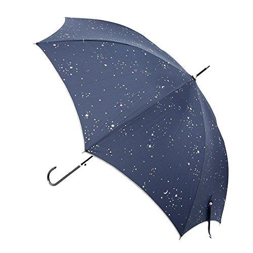マークス UVカット率90%以上 晴雨兼用 長傘 ネイビー COSMIC コズミック ZRFWU-UM13-NV