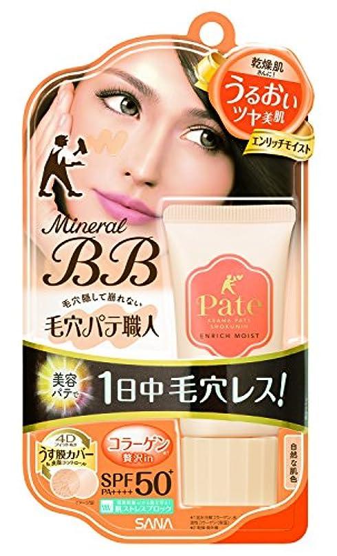 アピールしてはいけません包括的毛穴パテ職人 ミネラルBBクリーム エンリッチモイスト 自然な肌色 30g