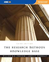 The Research Methods Knowledge Base, 3rd Edition by William M. K. Trochim James P. Donnelly(2006-12-18)