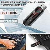SanDisk USBメモリー 32GB Cruzer Glide USB3.0対応 超高速 [並行輸入品]