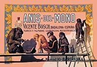 """Anis del Mono Fineアートキャンバス印刷( 20"""" x30"""" )"""