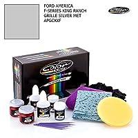 フォード・America FシリーズKing Ranch /グリルシルバーMet–apgcxxf /カラーNドライブタッチアップペイントシステムペイントチップスクラッチ/プラスパック
