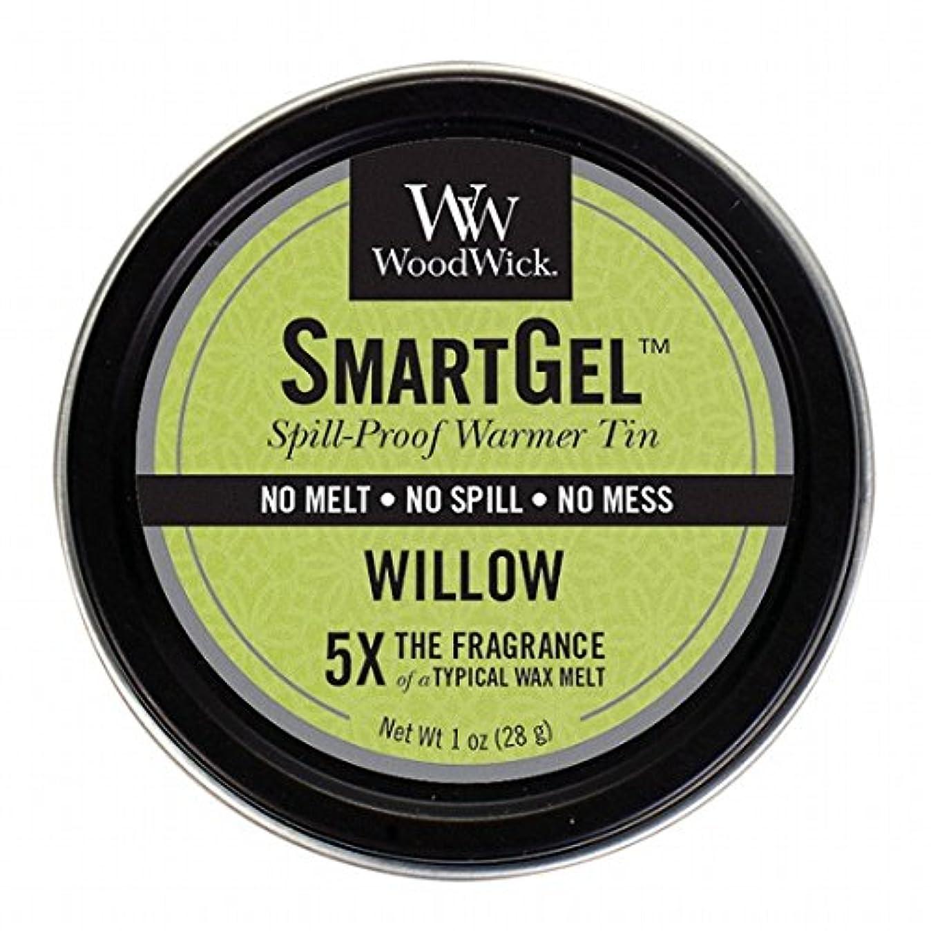 行政卑しい安息WoodWick(ウッドウィック) Wood Wickスマートジェル 「 ウィロー 」W9630525(W9630525)