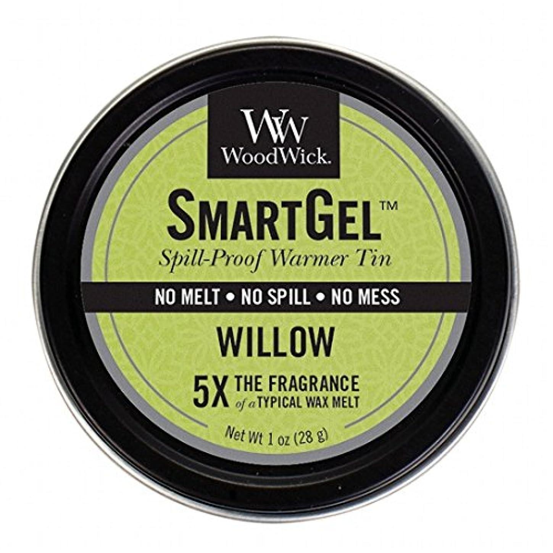 乳白色お誕生日イタリアのウッドウィック( WoodWick ) Wood Wickスマートジェル 「 ウィロー 」W9630525