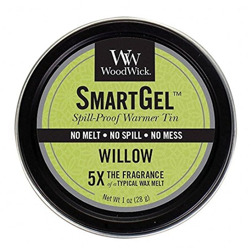 警報ポルノ急性ウッドウィック( WoodWick ) Wood Wickスマートジェル 「 ウィロー 」W9630525