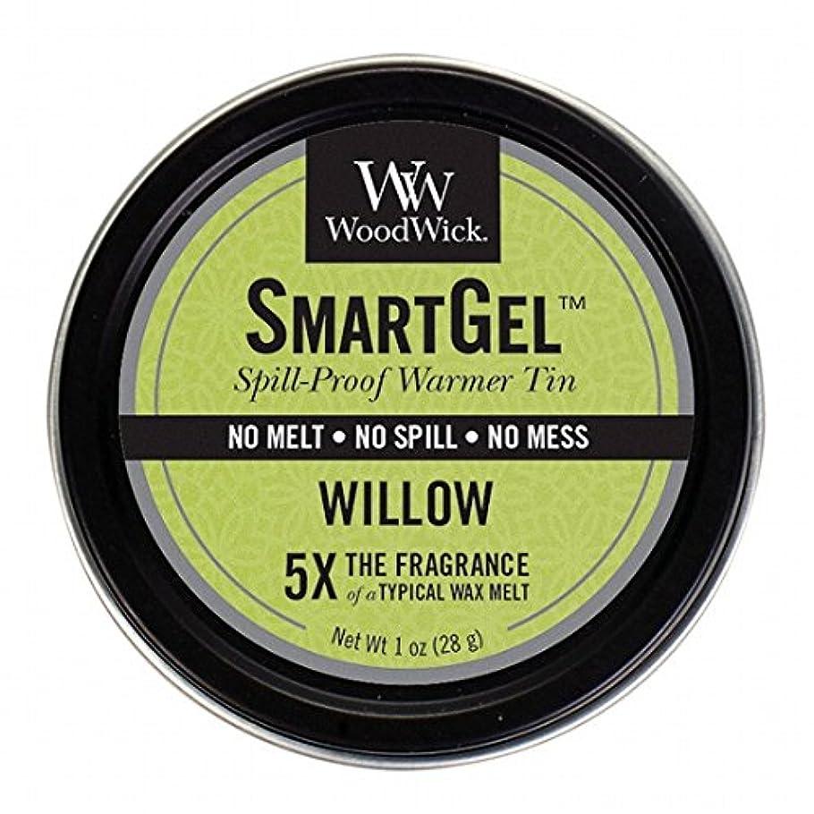 ライム乳製品ニッケルウッドウィック( WoodWick ) Wood Wickスマートジェル 「 ウィロー 」W9630525