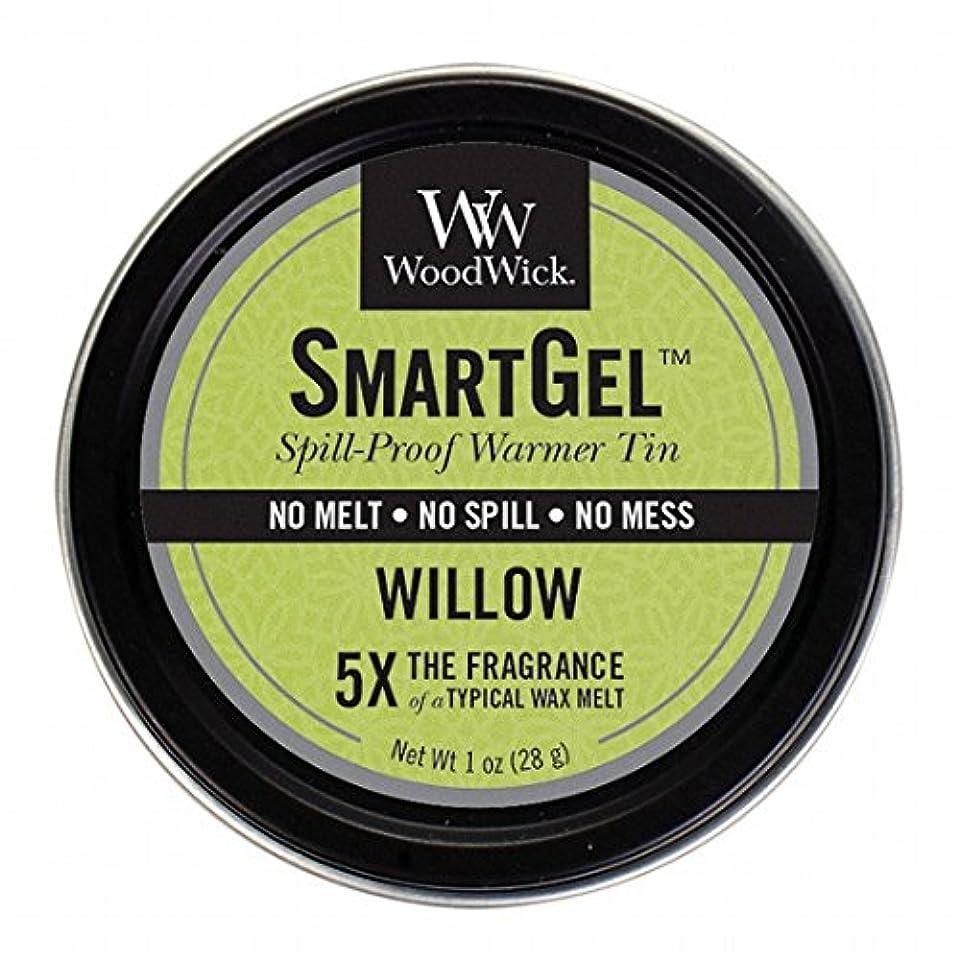 儀式パラシュートむさぼり食うウッドウィック( WoodWick ) Wood Wickスマートジェル 「 ウィロー 」W9630525