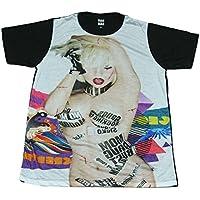 レディーガガ ジャケット CD インパクト セクシー デザインTシャツ おもしろTシャツ メンズTシャツ 半袖 [並行輸入品]