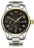 ブランドLuxury Men WatchesインポートMechanical Watchメンズ多機能電源ストレージ防水時計 40mm Silver Gold Black