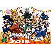 大都技研 公式 デスクカレンダー 2018 [卓上タイプ] 2018年 カレンダー