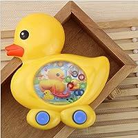 幼児期のゲーム 子供のおもちゃ黄色のダックゲーム水の水中リング幼稚園のギフト(黄色)