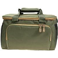 k-outdoor 大容量 釣りバッグ タックルバッグ 手提げバッグ/ショルダーバッグ 肩掛け 斜めかけ 多機能 ボトルケージ付き アーミーグリーン